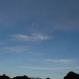 溶岩の上の月